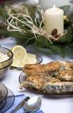 Polish Christmas table Stock Image