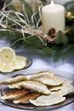 Polish Christmas table Royalty Free Stock Photos