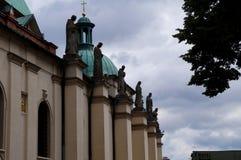 The polish church Stock Image