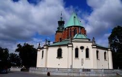 The polish church Royalty Free Stock Photography