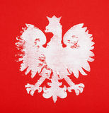 Polish coat of arms Royalty Free Stock Photography