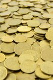 Polish coins background Royalty Free Stock Image