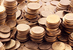 Polish coins Stock Images