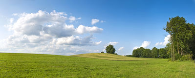 Polish countryside Stock Photo