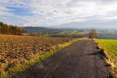 Polish countryside landscape Royalty Free Stock Photos