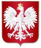 Polish Crest Stock Photo