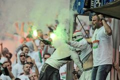 Polish Cup Final: Legia-Lech Royalty Free Stock Photos