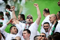 Polish Cup Final: Legia-Lech Royalty Free Stock Photo