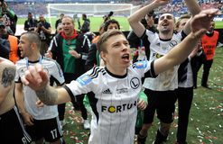 Polish Cup Final: Legia-Lech Stock Photos