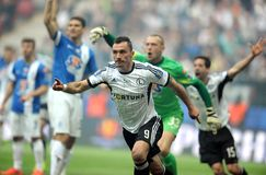 Polish Cup Final: Legia-Lech Stock Photo