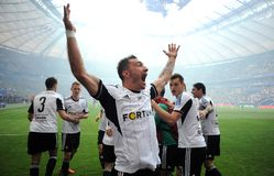 Polish Cup Final: Legia-Lech Royalty Free Stock Photography