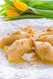 Polish Curd  dumplings Stock Image