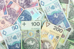 Polish currency Stock Image