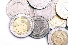 Polish currency Royalty Free Stock Photography