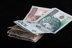 Polish currency Stock Photos