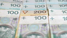 Polish currency Royalty Free Stock Photos