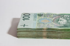 Polish currency - PLN - Polish zloty Royalty Free Stock Image