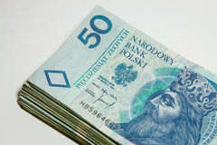 Polish currency - PLN - Polish zloty Stock Photo
