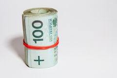 Polish currency - PLN - Polish zloty Stock Image