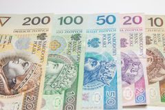 Polish currency Royalty Free Stock Image