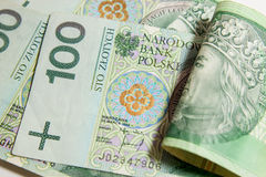Polish currency Stock Photo