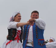 Polish Dancers Stock Photo