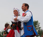 Polish Dancers Royalty Free Stock Photo