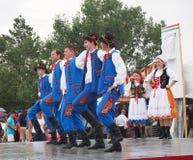 Polish Dancers Royalty Free Stock Photos