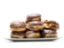 Polish donuts Stock Images
