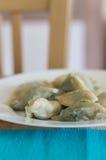 Polish dumplings Stock Photos