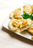 Polish dumplings Stock Photo
