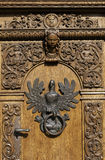 Polish eagle, door knocker. Stock Images