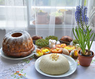 Polish Easter cakes Stock Photography