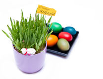 Polish easter decoration Stock Image