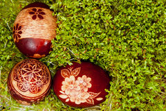 Polish Easter eggs Stock Photo