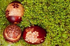 Polish Easter eggs Stock Photo