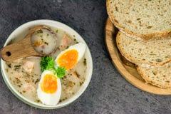 Free Polish Easter Soup - Zurek Stock Photos - 113981143