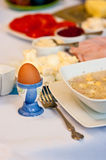 Polish Easter table Stock Photo