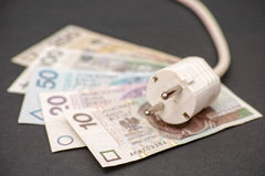 Polish electricity costs Stock Image