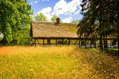 Polish ethno- village Stock Image