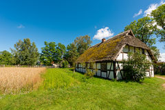 Polish ethno- village Royalty Free Stock Photography