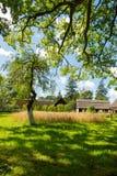 Polish ethno- village Royalty Free Stock Photography