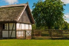 Polish ethno- village Stock Image