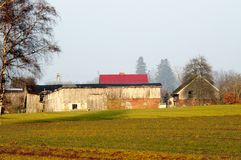 Polish farm Royalty Free Stock Images