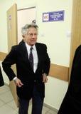 Polish film director Roman Polanski in court in Cracow Royalty Free Stock Photo