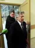 Polish film director Roman Polanski in court in Cracow Stock Photography