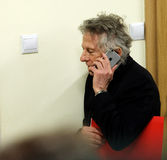 Polish film director Roman Polanski in court in Cracow Royalty Free Stock Photo
