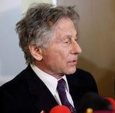 Polish film director Roman Polanski in court in Cracow Stock Photos