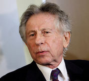 Polish film director Roman Polanski in court in Cracow Royalty Free Stock Images