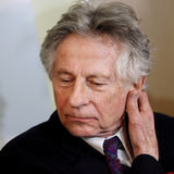 Polish film director Roman Polanski in court in Cracow Stock Photography
